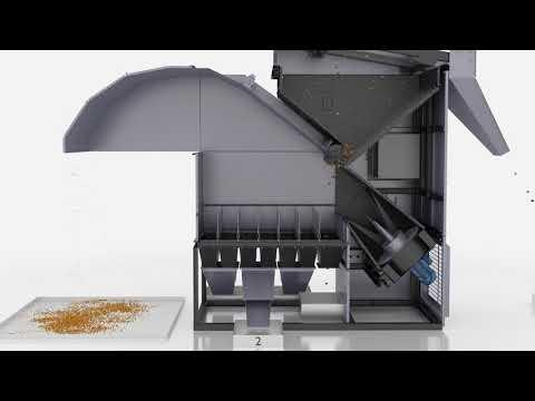 GCS Grain Cleaner - How It Works