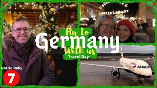Not So Daily Vlogmas #7 | Travel day to Nuremberg, Germany | World Showcase Vlogs | Krispysmore 2019