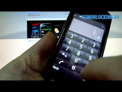 How to UNLOCK NOKIA N97 mini via code - How to Enter Code