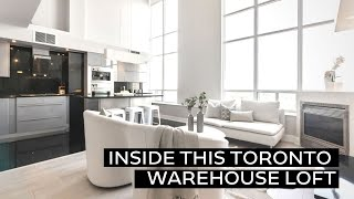 Inside this Toronto Warehouse Loft