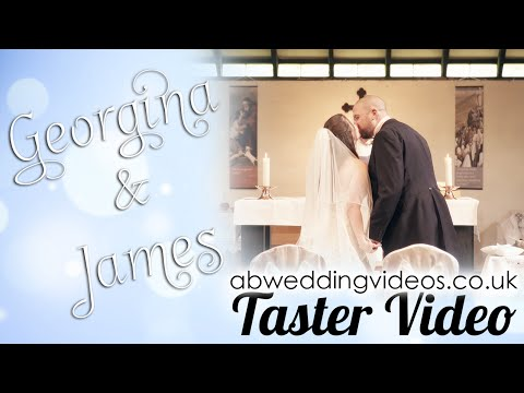 🎥abweddingvideos.co.uk | Georgina & James' Wedding Day - Taster Video | Andy Bird Wedding Videos
