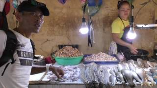 セブ島観光・旅行・ツアー マクタン島のラプラプ市場に行ってきました