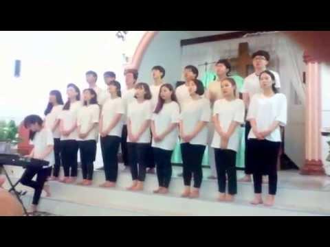 Wow Orang Korea Menyanyikan Lagu Rohani Indonesia di GBKP