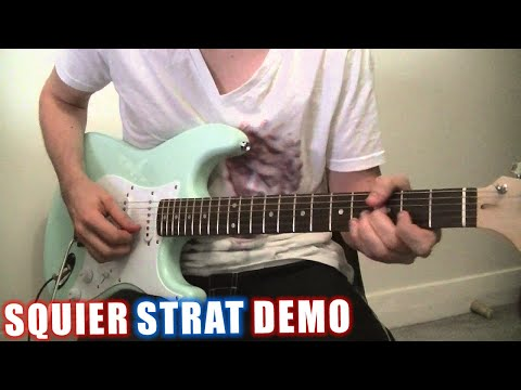 Squier Bullet Stratocaster Review HD