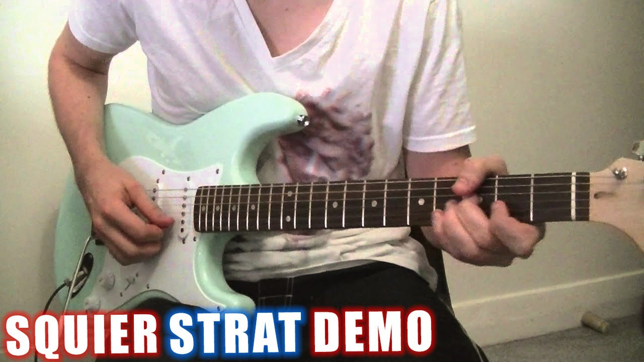 The 4 Best Squier Strats -- Fender Electric Guitar Reviews 2019