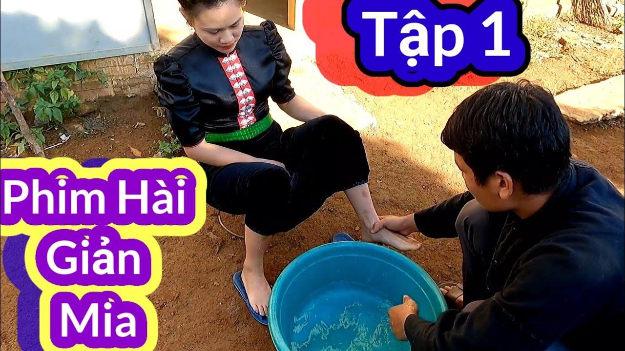 PHIM HÀI TIẾNG THÁI: GIẢN MIA ( SỢ VỢ ) Tập 1 ll Phim Hài Hước dân tộc Thái