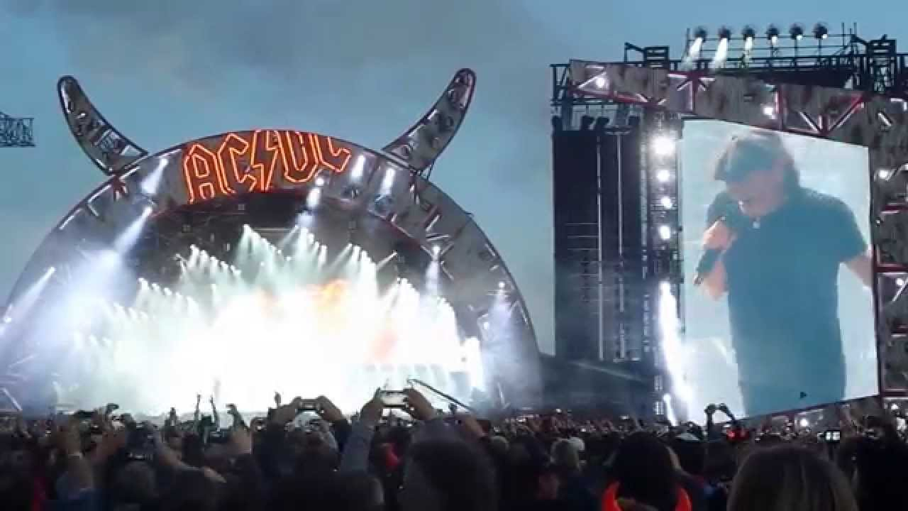 Acdc Intro Rock Or Bust 10052015 Dresden Festwiese
