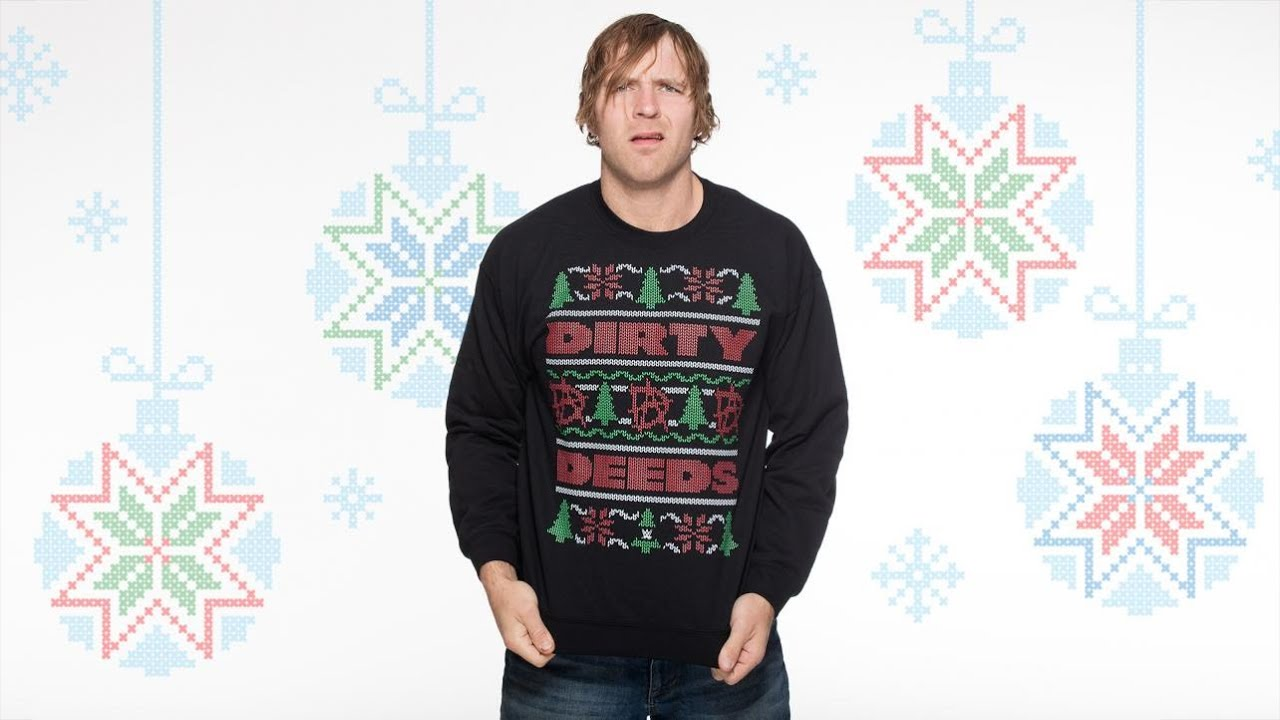 Wwe : Superstars and Divas wear ugly Christmas sweaters - YouTube