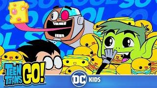 Teen Titans Go! En Español | ¿Hambriento todavía? | DC Kids