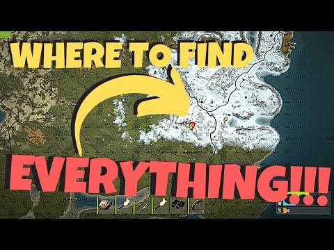 Rust Map Analysis