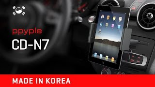 Держатель  для планшета в авто в слот CD PPYPLE CD-N7 ( Корея)(, 2015-11-14T20:08:57.000Z)