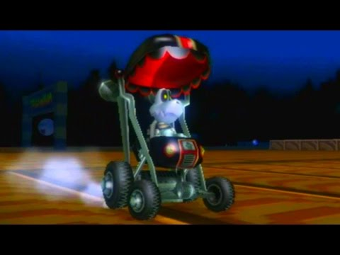 Mario Kart Wii - Mirror Shell Cup Grand Prix (Dry Bones ...