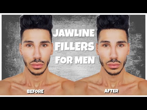 how to get a jawline male