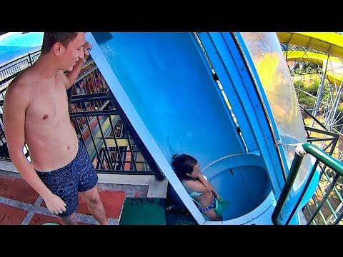 Adaland Aquapark In Turkey (Turkish Music Clip!)