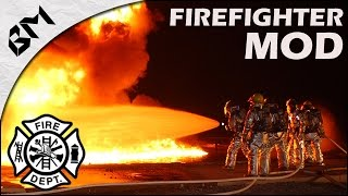 GTA 5 - Firefighter Mod - INCENDIE INGÉRABLE - 4x4 Pompiers