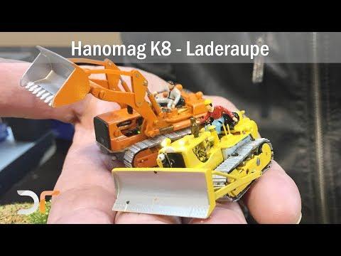 Mikromodell - Hanomag K8 Laderaupe | RC 1:87