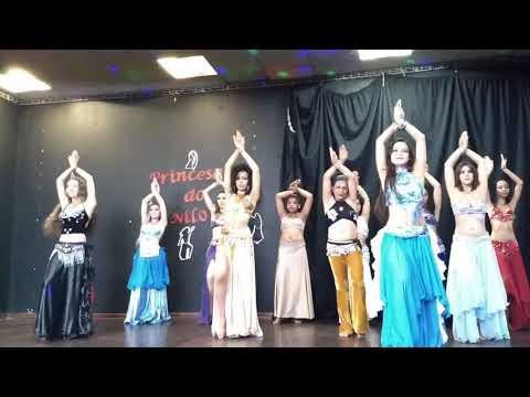 Dança do Ventre - Prof Patrícia Cavalcante - Coreografia final