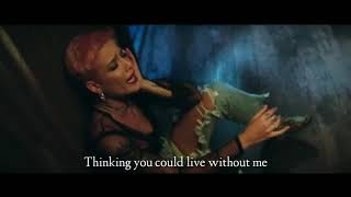 Halsey - Without Me (Lyrics Video)