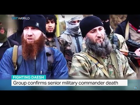 DAESH confirms the death of senior military commander