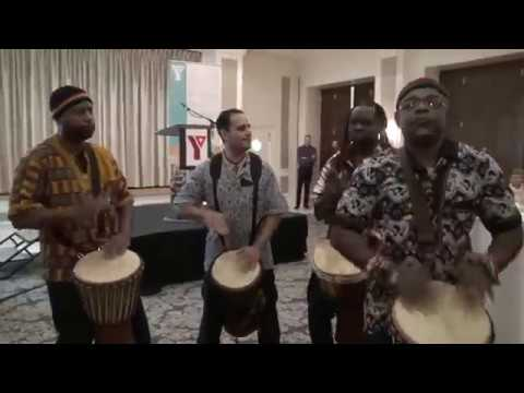 African Djembe Drumming Performance