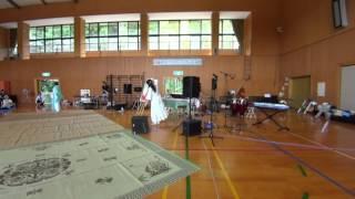 那智勝浦太田小学校体育館にて。 ※風の雑音有り。