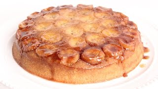 Bananas Foster Upside Down Cake Recipe - Laura Vitale - Laura In The Kitchen Episode 955