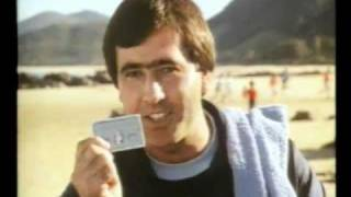 American Express ad with Seve Ballesteros