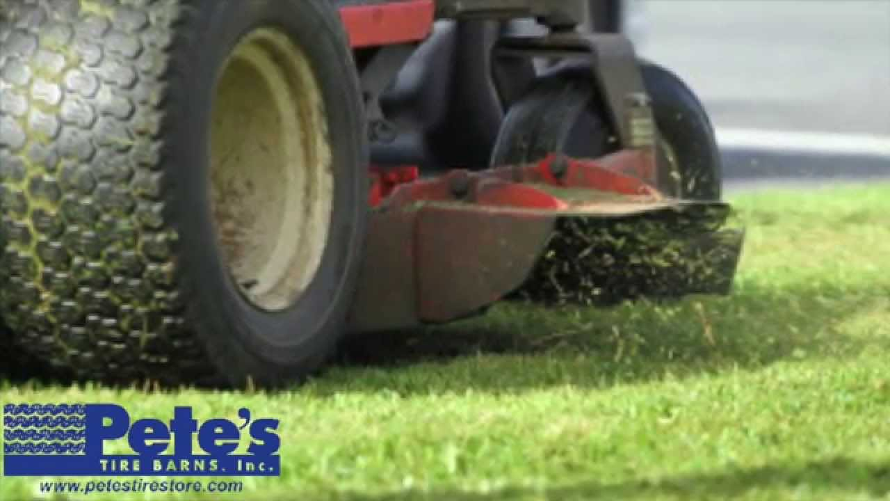 How To Read Tire Size >> How To Read A Lawn Tractor Tire Size - YouTube