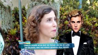 Youtuber Camilla Uckers passa um dia em Orlando e apronta todas com Cozete Gomes
