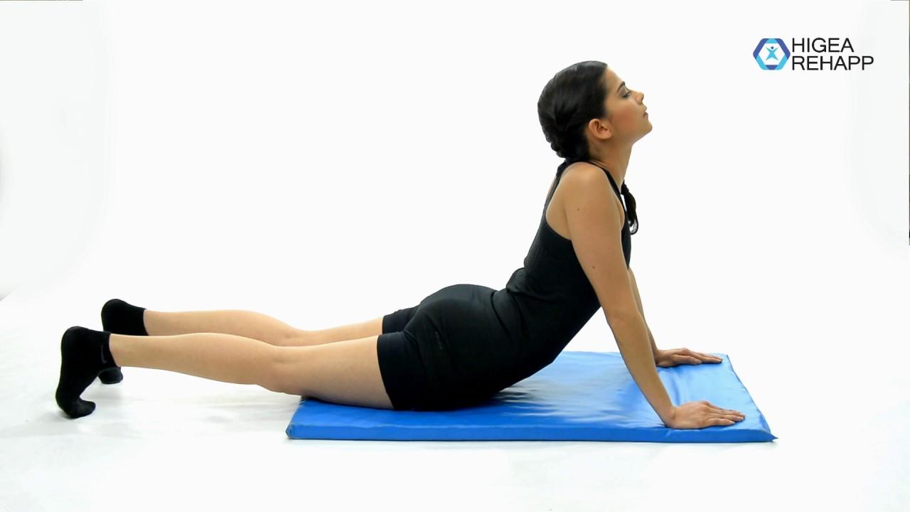 Ejercicios de estiramiento para los músculos abdominales