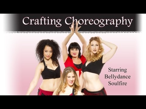Crafting Choreography with Bellydance Soulfire - DVD trailer