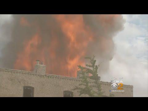 Fire Burns At Least 2 Buildings In New Kensington