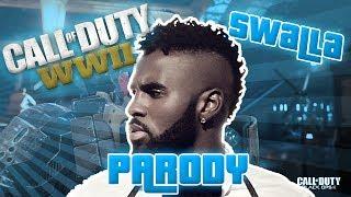 Jason Derulo - Swalla ft. Nicki Minaj, Ty Dolla $ign PARODY! - Call of Duty WW2 Song!