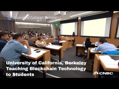 University of California Berkeley now teaching Blockchain Courses - CNBC