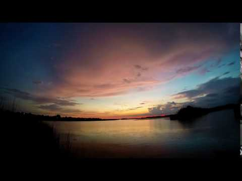 Venetian Isles Sunset Time lapse