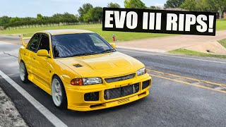 homepage tile video photo for First Pulls in the EVO III - Street Testing the New Turbo!