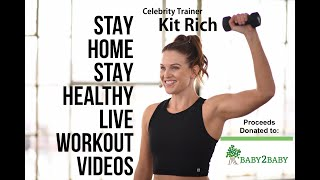 This 30 minute full body circuit fusion workout is great for all levels. no equipment needed. a combination of cardio and strength. your health a...