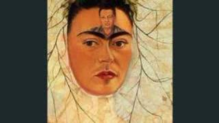 frida kahlo self portraits morphed