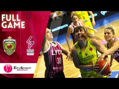 Sopron Basket v LDLC ASVEL Feminin - Full Game - EuroLeague Women 2019-20
