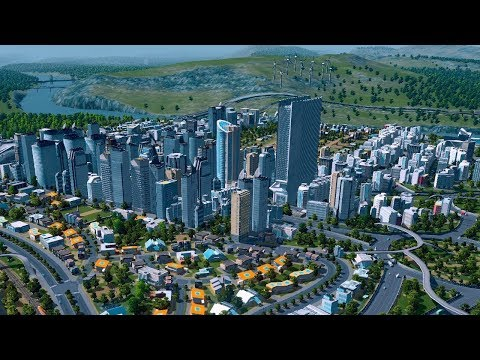 "Cities Skylines S1:""Planning out industrial,residential,commercial areas"""