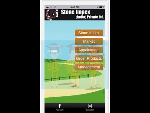 Granite Exporter Shopping Cart App Built By Cheapest App Developers ® www.CheapestAppDevelopers.com