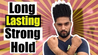 HOW TO GET STRONG HAIR HOLD | MAKE YOUR HAIR STAY UP FOR LONG!