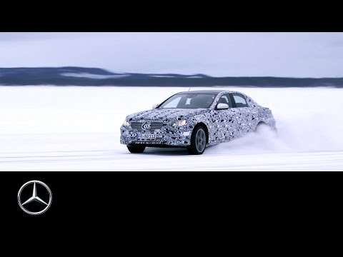 Drive and Chassis: E-Class Making-of – Part 2 – Mercedes-Benz original.