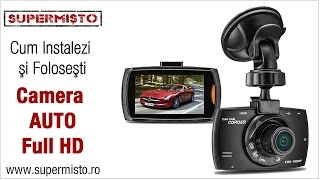 Camera Auto Full HD - tutorial de instalare