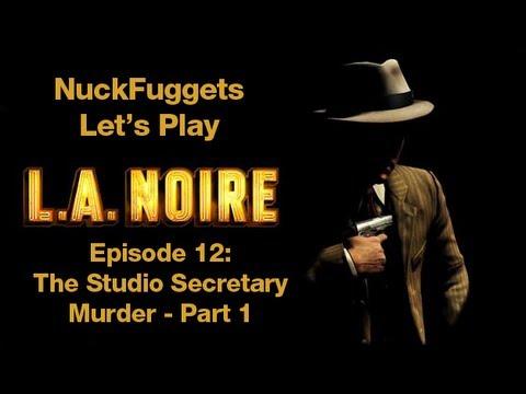 L.A. Noire Let's Play - Episode 12: Secretary Studio Murder Part 1