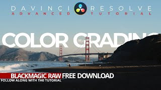 Davinci Resolve 16 Advanced Color Grading Tutorial With FREE FOOTAGE