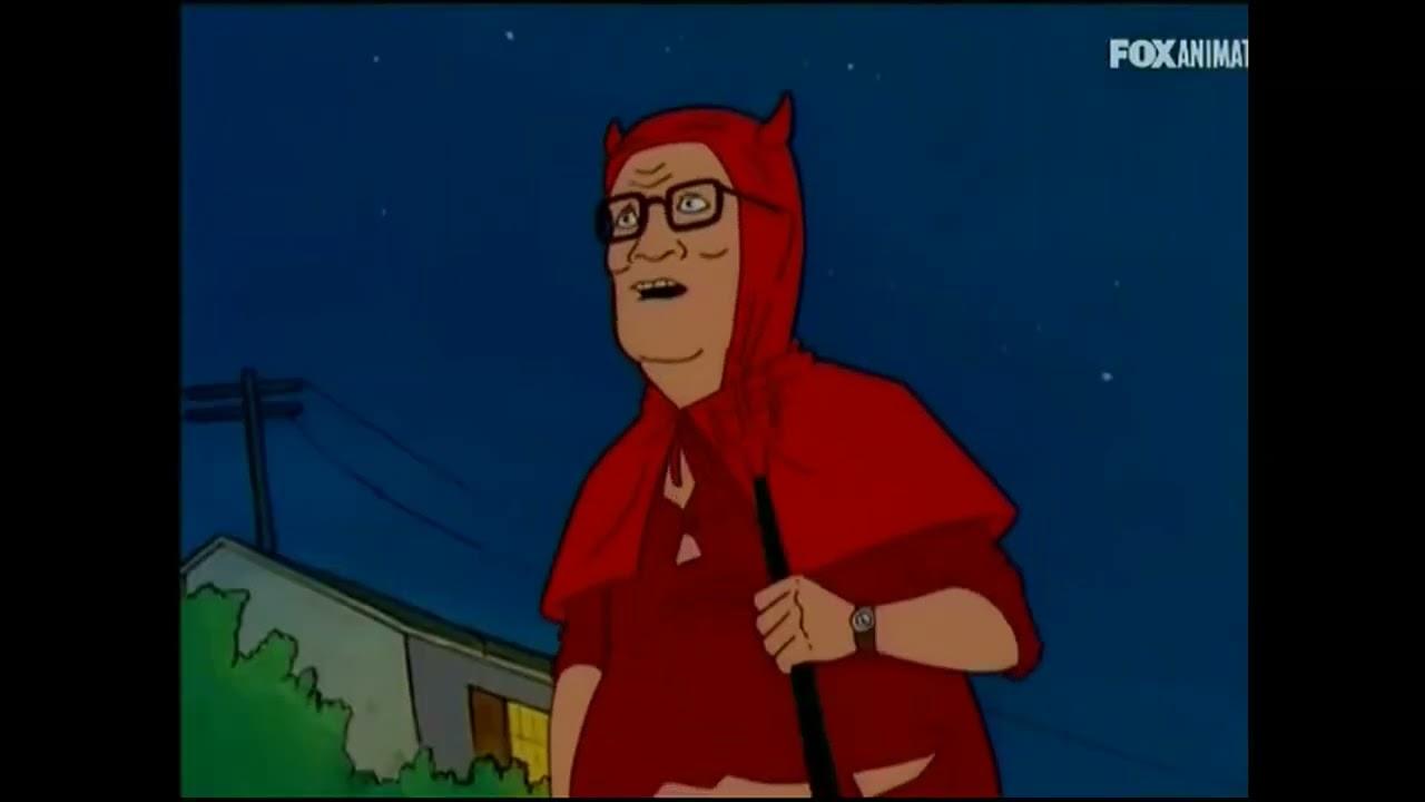 King of the Hill ITA - Hank incita a Festeggiare la Notte di Halloween nel suo Quartiere....