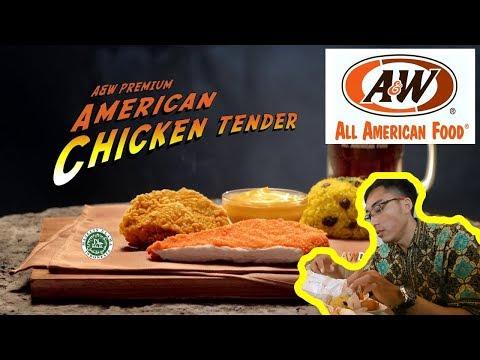 Menu Baru Di A&W American Chicken Tender Surabaya