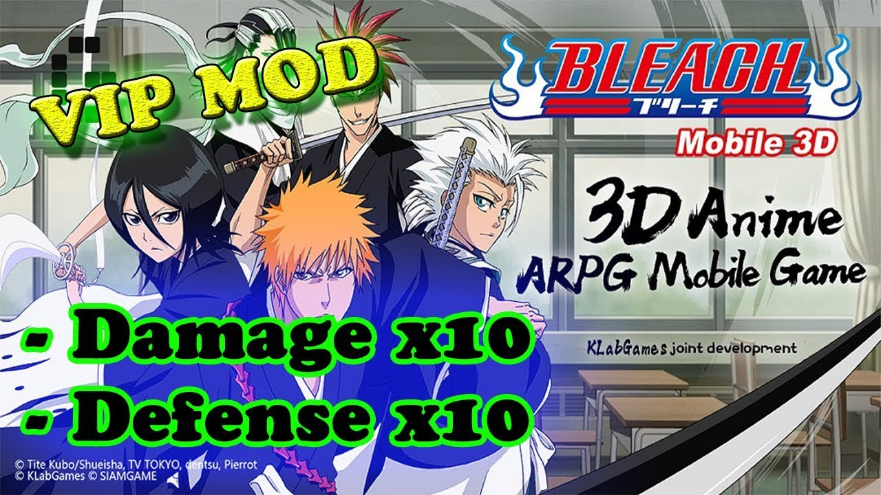 BLEACH Mobile 3D Ver. 19.1.0 | 40.0.0 | 100.2.4 MOD APK | Damage x10 | Defense x10 |  #Smartphone #Android