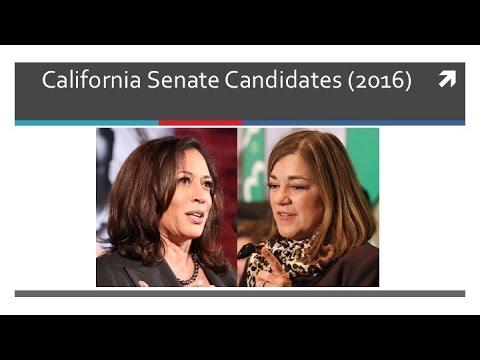 Candidates 2016 (Senate Race)